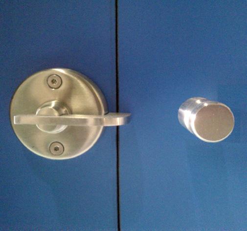 Cerradura de cabina fenolica
