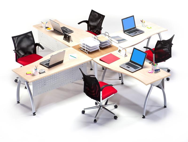 Mobiliario oficina sillas y mesas