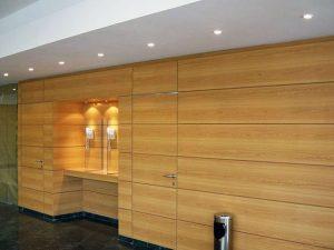 Forrado de paredes de madera