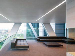 Techos modernos para oficinas
