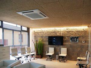 Falsos techos para oficinas