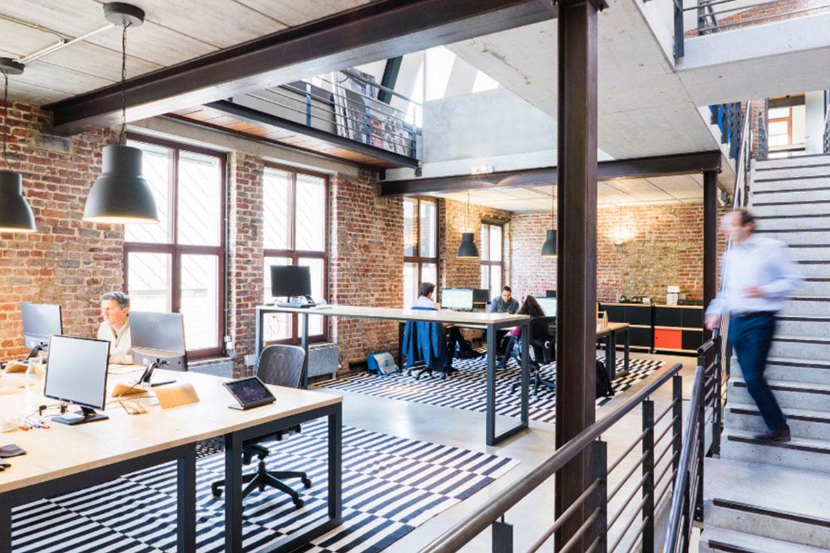 El open space en las oficinas - Desmon