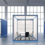 Tipos de mamparas separadoras de oficina y usos | DESMON